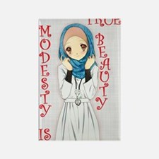 Modesty  Rectangle Magnet