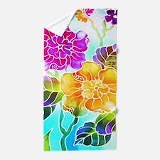 03 Asia Batik Art Beach Towel