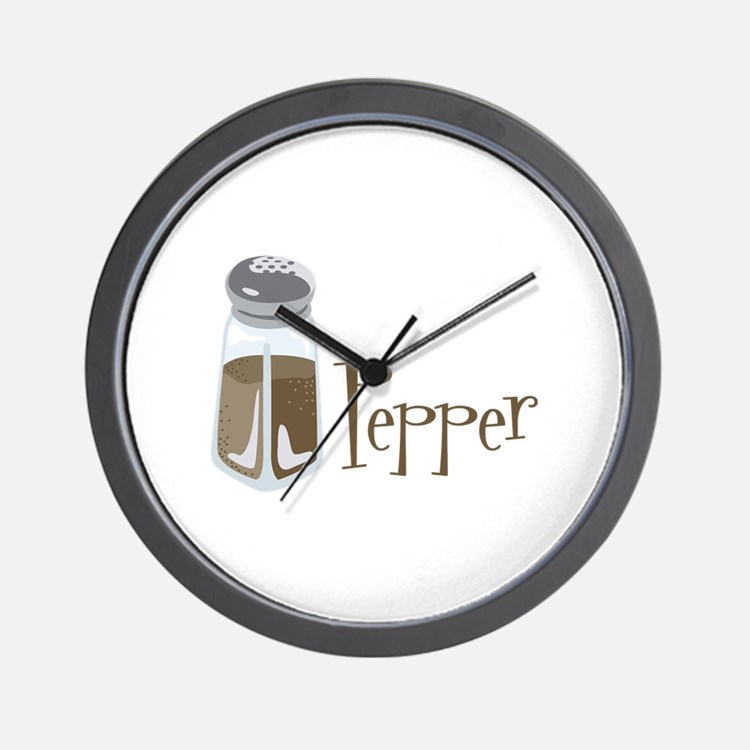 Salt And Pepper Clocks Salt And Pepper Wall Clocks