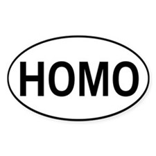 HOMO Decal