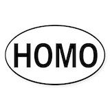 Homo Stickers
