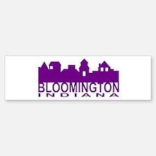 Bloomington Indiana Bumper Bumper Bumper Sticker
