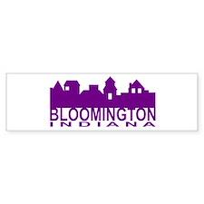 Bloomington Indiana Bumper Bumper Sticker