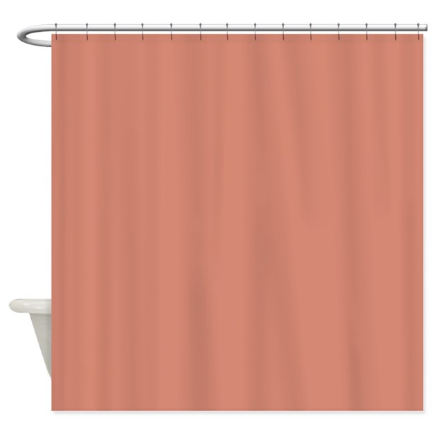 peach sand shower curtain by coppercreekdesignstudio