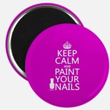 Keep Calm and Paint Your Nails Magnets