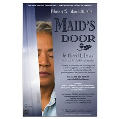 Maid's Door Large Posters