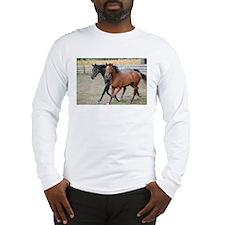 Horses in Love Long Sleeve T-Shirt