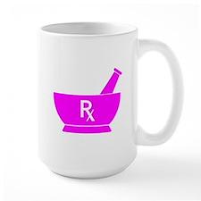 Pink Mortar and Pestle Rx Mug