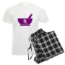 Purple Mortar and Pestle Rx Pajamas