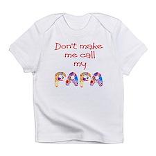 my papa Infant T-Shirt