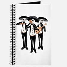Day Of The Dead Mariachi Skeletons Journal