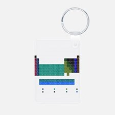 Blue Periodic Table Keychains