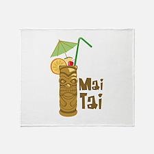 Mai Tai Throw Blanket