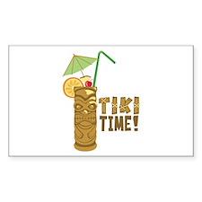 Tiki Time! Decal