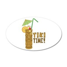 Tiki Time! Wall Decal