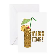 Tiki Time! Greeting Cards