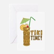 Tiki Time! Greeting Cards