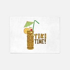 Tiki Time! 5'x7'Area Rug