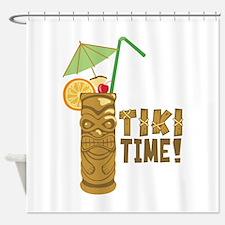 Tiki Time! Shower Curtain