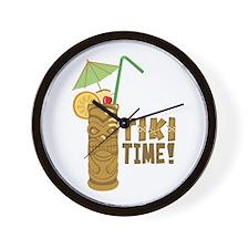Tiki Time! Wall Clock