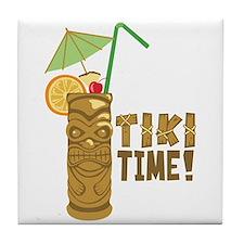 Tiki Time! Tile Coaster