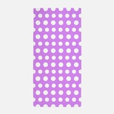 Purple Dotty, Beach Towel