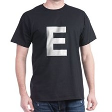 Letter E White T-Shirt