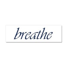 Breathe.PSD Car Magnet 10 X 3 Car Magnet 10 X 3