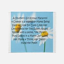 Southern Girl Throw Blanket
