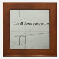 It's all about Perspective Framed Tile