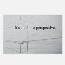 It's all about Perspectiv Postcards (Package of 8)