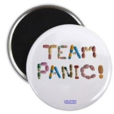 Team Panic! Button Magnets