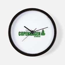 Visit Scenic Copenhagen, Denm Wall Clock