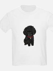 Poodle pup (blk) T-Shirt