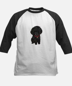 Poodle pup (blk) Tee