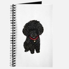 Poodle pup (blk) Journal
