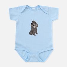 Poodle (Min-Slvr) Infant Bodysuit