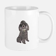 Poodle (Min-Slvr) Mug