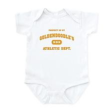Property of my Goldendoodle Infant Bodysuit