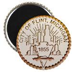Flint Logo Magnet
