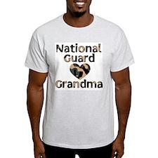 NG Grandma Heart Camo T-Shirt