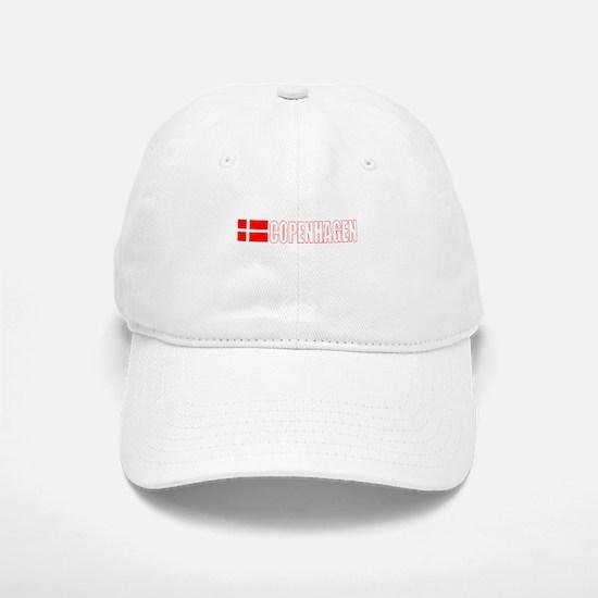 Copenhagen, Denmark Baseball Baseball Cap