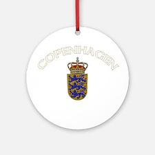 Copenhagen, Denmark Ornament (Round)