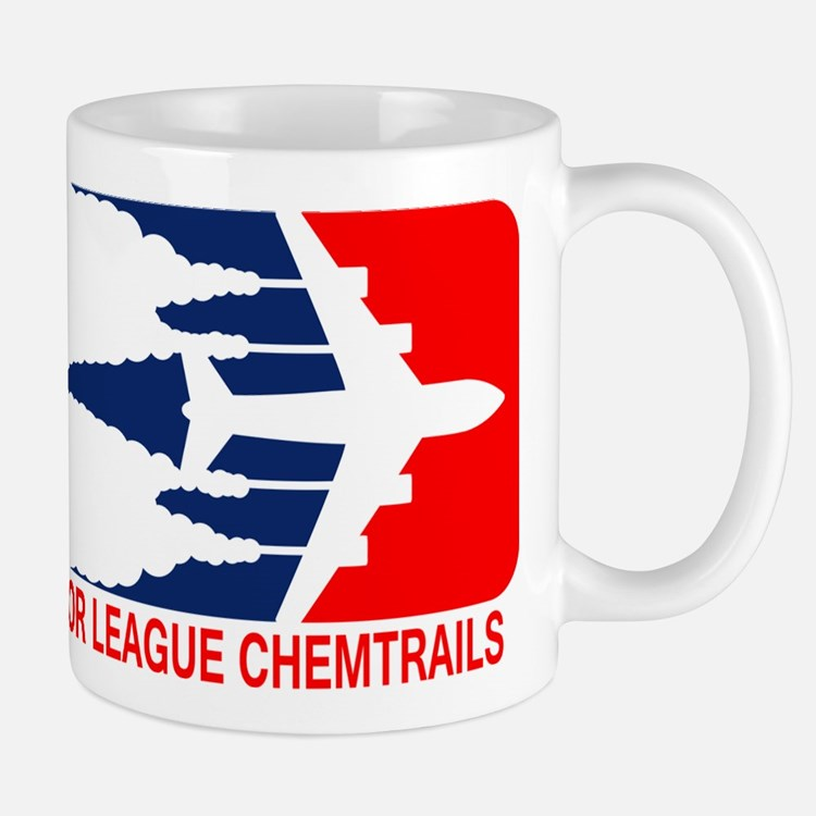 Major League Chemtrails Mugs