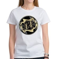 MIMBRES WOMEN HUNTING FOWL BOWL DESIGN Tee
