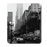Chicago el Mouse Pads