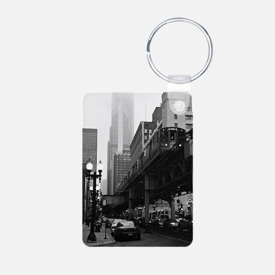El on a Foggy Day Keychains