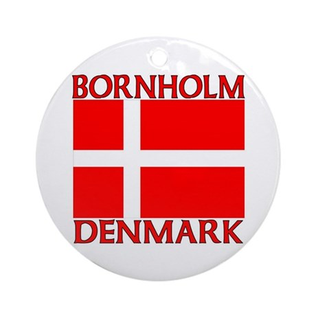 Bornholm, Denmark Ornament (Round)