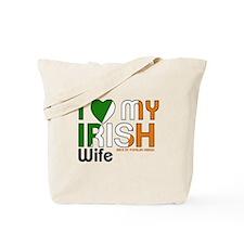 I Love My Irish Wife Tote Bag