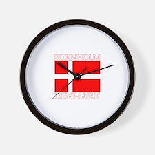 Bornholm, Denmark Wall Clock